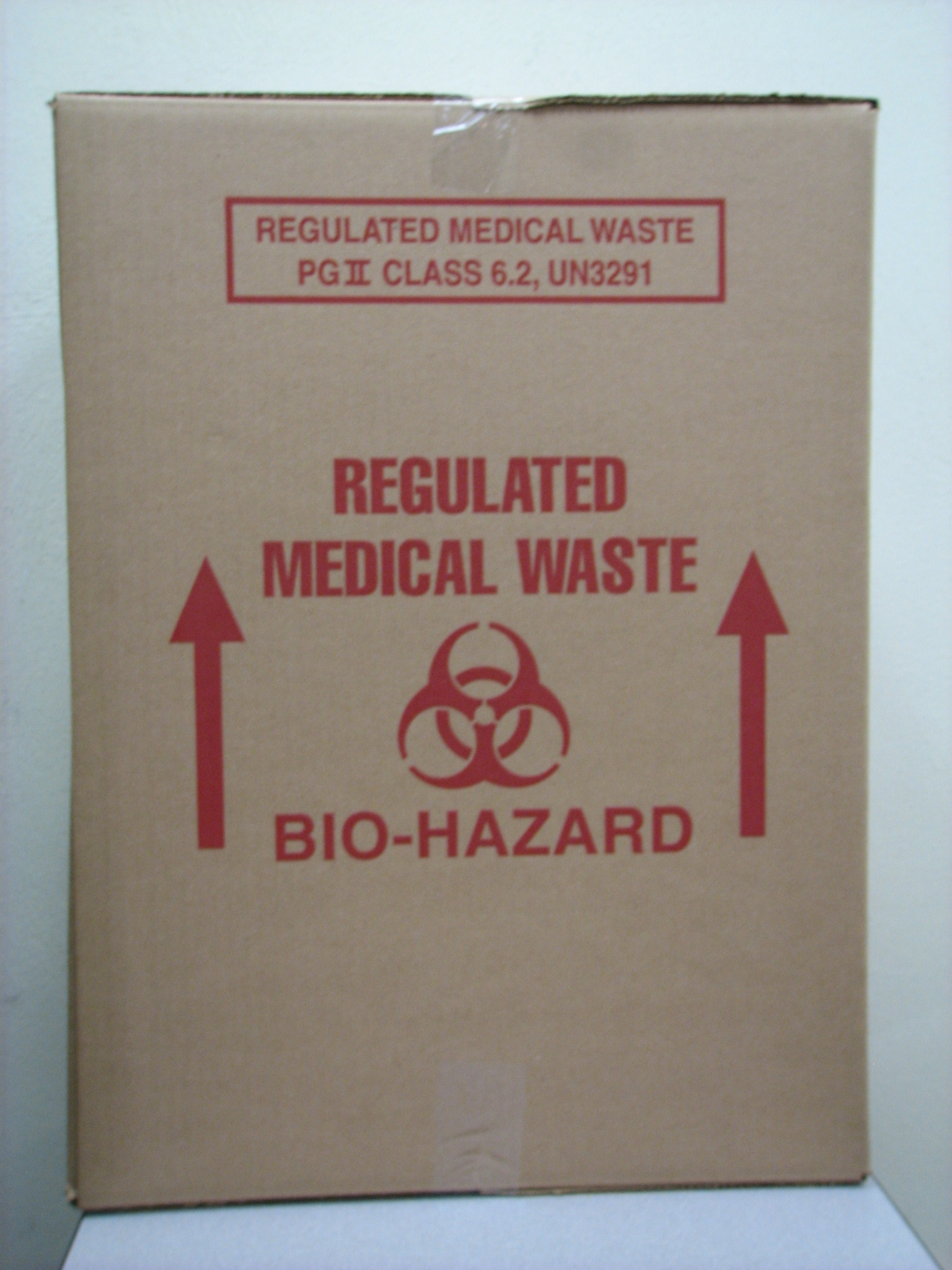 regulated medical waste containers