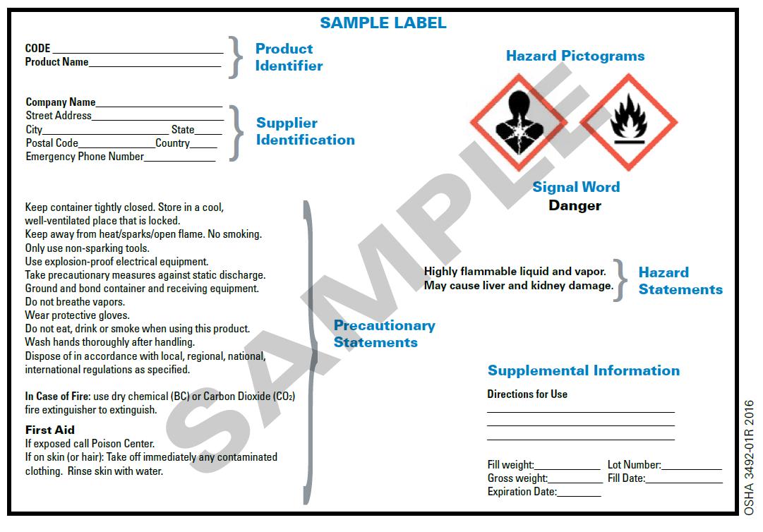 hazard communication program environmental health and safety
