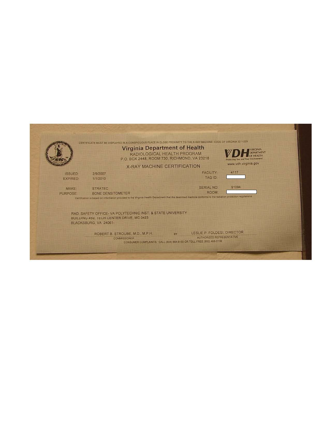 Document Details Environmental Health And Safety Services